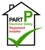 Adam Watts Electrical Services are  Part P Electrical Safety Registered Installers